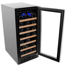 Load image into Gallery viewer, Smith & Hanks 34 Bottle Single Zone Wine Cooler