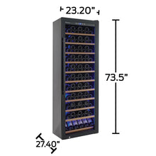 Load image into Gallery viewer, Wine Enthusiast Classic 200 Bottle Wine Cooler