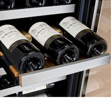 Load image into Gallery viewer, Allavino FlexCount II 30 Bottle/88 Can Dual Zone Stainless Side-by-Side Wine and Beverage Center