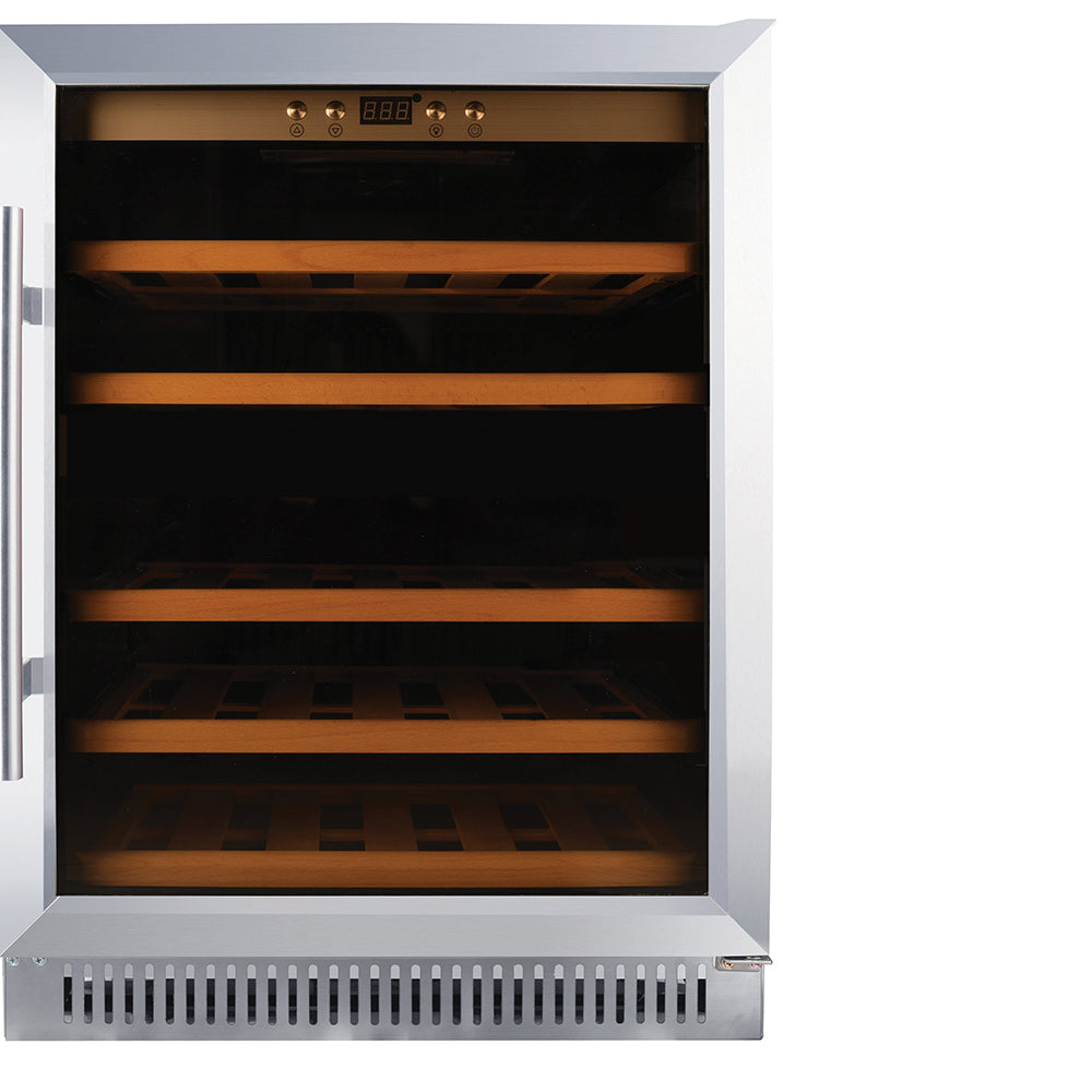 Omcan 51 Bottle Single Zone Wine Cooler