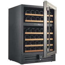 Load image into Gallery viewer, Smith & Hanks 46 Bottle Dual Zone Wine Cooler