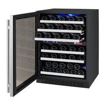 Load image into Gallery viewer, Allavino 56 Bottle Dual Zone Wine Cooler Stainless