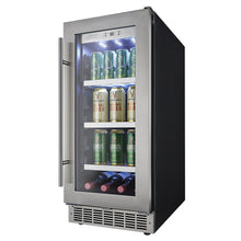 Load image into Gallery viewer, Silhouette Piedmont 8 Bottle 66 Can Single Zone Wine & Beverage Cooler