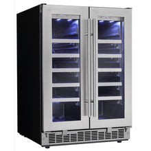 Load image into Gallery viewer, Silhouette Napa 42 Bottle Dual Zone Wine Cooler