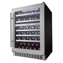 Load image into Gallery viewer, Silhouette Sonoma 51 Bottle Dual Zone Wine Cooler