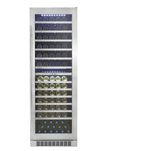 Load image into Gallery viewer, Silhouette Bordeaux 129 Bottle Dual Zone Wine Cooler