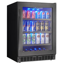 Load image into Gallery viewer, Silhouette Prague 6 Bottle 138 Can Single Zone Wine & Beverage Cooler