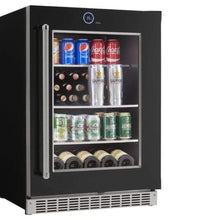 Load image into Gallery viewer, Silhouette 5 Bottle 105 Can Single Zone Wine & Beverage Cooler
