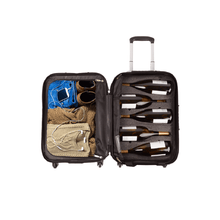 Load image into Gallery viewer, VinGardeValise® Piccolo 5 Bottle Wine Suitcase