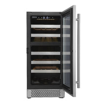 Load image into Gallery viewer, Cavavin 24 Bottle Dual Zone Wine Cooler