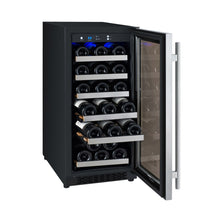 Load image into Gallery viewer, Allavino 30 Bottle Stainless Single Zone Wine Cooler