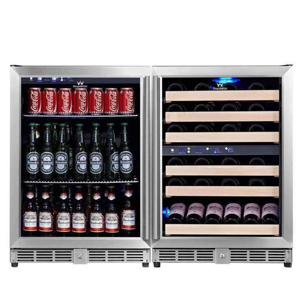 KingsBottle 46 Bottle 160 Can Wine & Beverage Cooler
