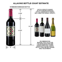 Load image into Gallery viewer, Allavino 99 Bottle Stainless Single Zone Wine Cooler