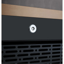 Load image into Gallery viewer, Allavino FlexCount II 112 Bottle Four Zone Black Side-by-Side Wine Cooler