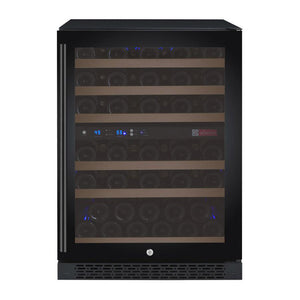 Allavino 56 Bottle Dual Zone Wine Cooler Black
