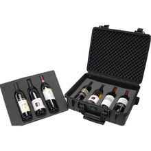 Load image into Gallery viewer, TZCase 7 Bottle Wine Travel Case