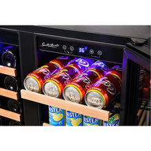 Load image into Gallery viewer, Smith & Hanks 32 Bottle Dual Zone Wine & Beverage Cooler RE100018