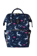 Load image into Gallery viewer, Unicorn Nappy Bag, Nappy Bag - All Things Babies