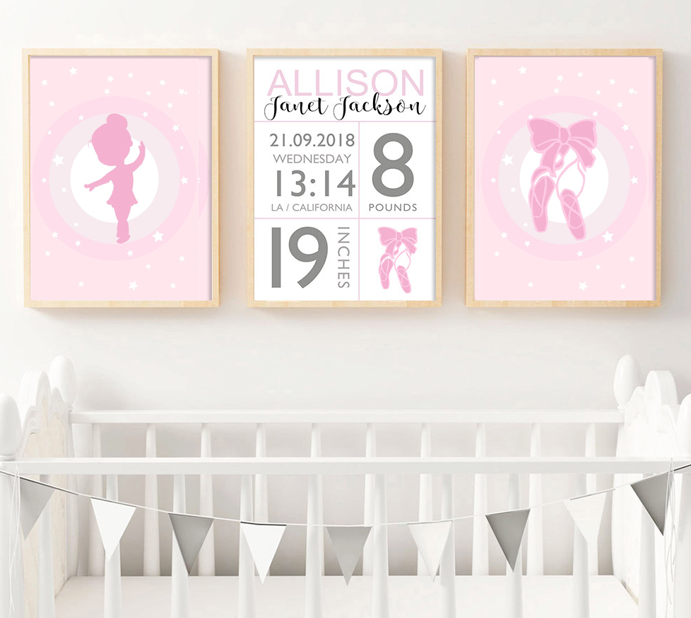 Little Princess Personalised Baby Birth, Personalised Item - All Things Babies