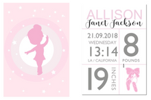Load image into Gallery viewer, Little Princess Personalised Baby Birth, Personalised Item - All Things Babies