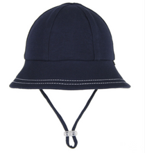 Load image into Gallery viewer, Baby Bucket Hat - Navy, Bedhead hat - All Things Babies