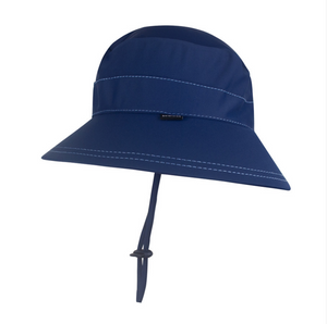 Kids UPF50+ Bucket Swim Hat - Marine, Bedhead hat - All Things Babies