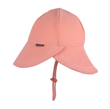 Load image into Gallery viewer, Legionnaire UPF50+ Swim Bedhead Hat - Peach, Bedhead hat - All Things Babies