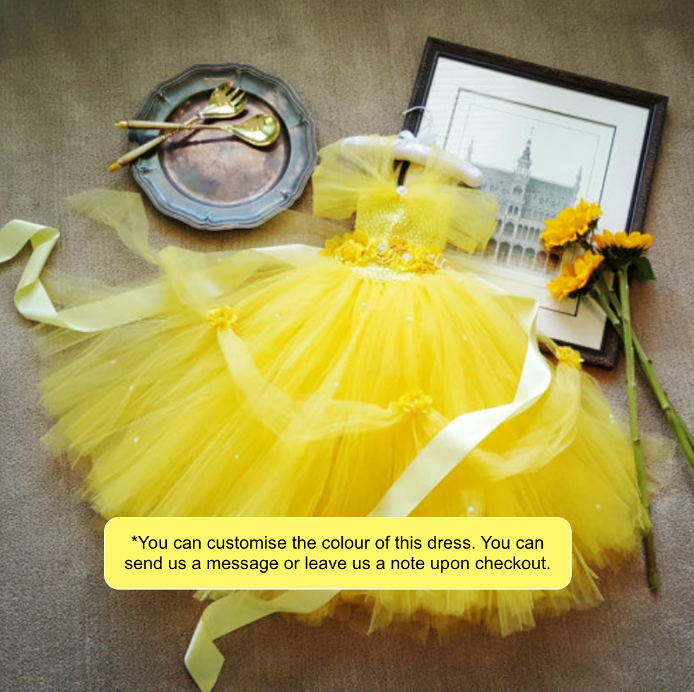 Belle Tutu Dress, Tutu dress - All Things Babies