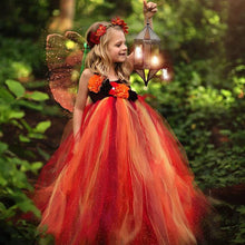 Load image into Gallery viewer, Fiery Fairy Tutu Dress, Tutu dress - All Things Babies