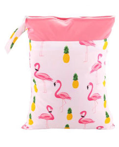 Pink Flamingo Wetbag, wetbag - All Things Babies