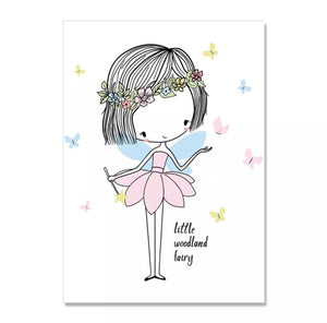 Princesses and Fairies Canvas Prints, Canvass print - All Things Babies
