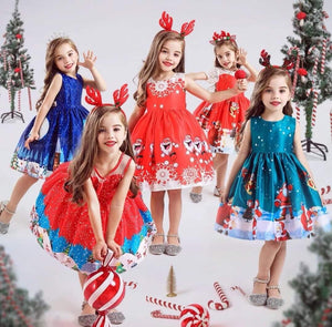 Red Christmas Dress - Girls, Christmas Clothes - All Things Babies