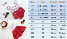 Load image into Gallery viewer, Christmas Dress and Romper