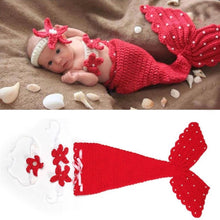 Load image into Gallery viewer, Little Mermaid Baby Costume, Costume - All Things Babies