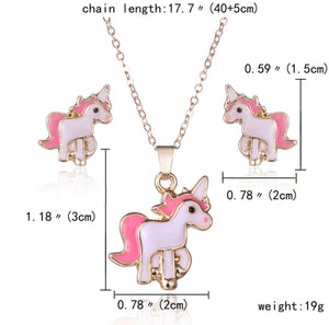 Unicorn Jewellery Set, Jewellery Set - All Things Babies