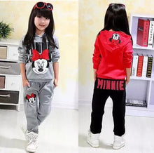 Load image into Gallery viewer, Minnie Mouse Hoodie and Pants, Baby clothing - All Things Babies