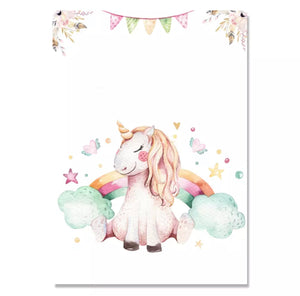 Magical Unicorn Canvas Prints, Canvass print - All Things Babies