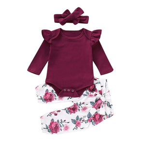 Kelly Romper and Pants Set, Baby clothing - All Things Babies