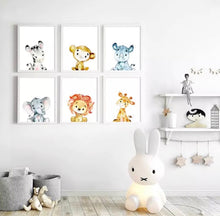 Load image into Gallery viewer, Baby Animals Canvas Prints, Canvass print - All Things Babies