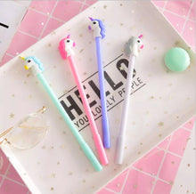 Load image into Gallery viewer, Unicorn Gel Pen, Unicorn pen - All Things Babies