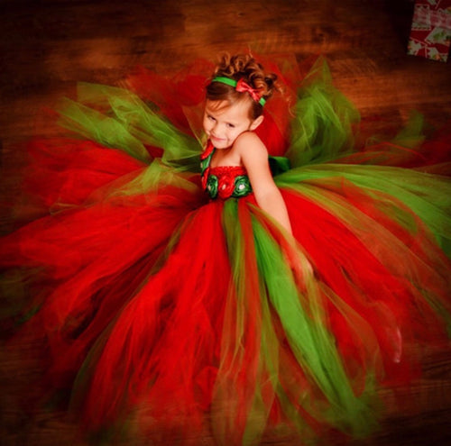 Christmas Themed Tutu Dress, Tutu dress - All Things Babies