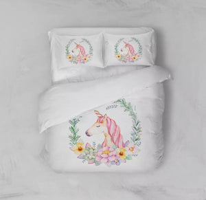 Unicorn Sheet Set, Bed Sheets - All Things Babies
