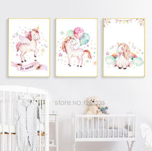 Load image into Gallery viewer, Magical Unicorn Canvas Prints, Canvass print - All Things Babies