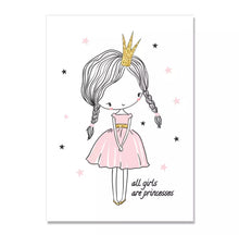 Load image into Gallery viewer, Princesses and Fairies Canvas Prints, Canvass print - All Things Babies