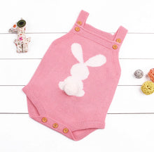 Load image into Gallery viewer, Bunny romper - Knitted, Baby clothing - All Things Babies