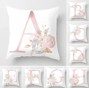Alphabet Cushion Cover, Cushion Cover - All Things Babies