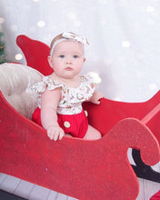 Load image into Gallery viewer, Christmas Dress and Romper, Christmas Clothes - All Things Babies
