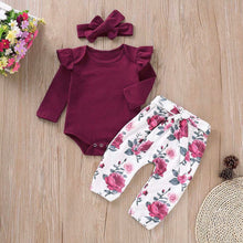 Load image into Gallery viewer, Kelly Romper and Pants Set, Baby clothing - All Things Babies
