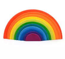 Load image into Gallery viewer, Montessori Rainbow Semi-circle