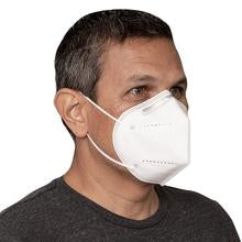 KN95 Filtration GB2626-2006 Standard 4-Ply Personal Protection Face Mask - 25 Masks